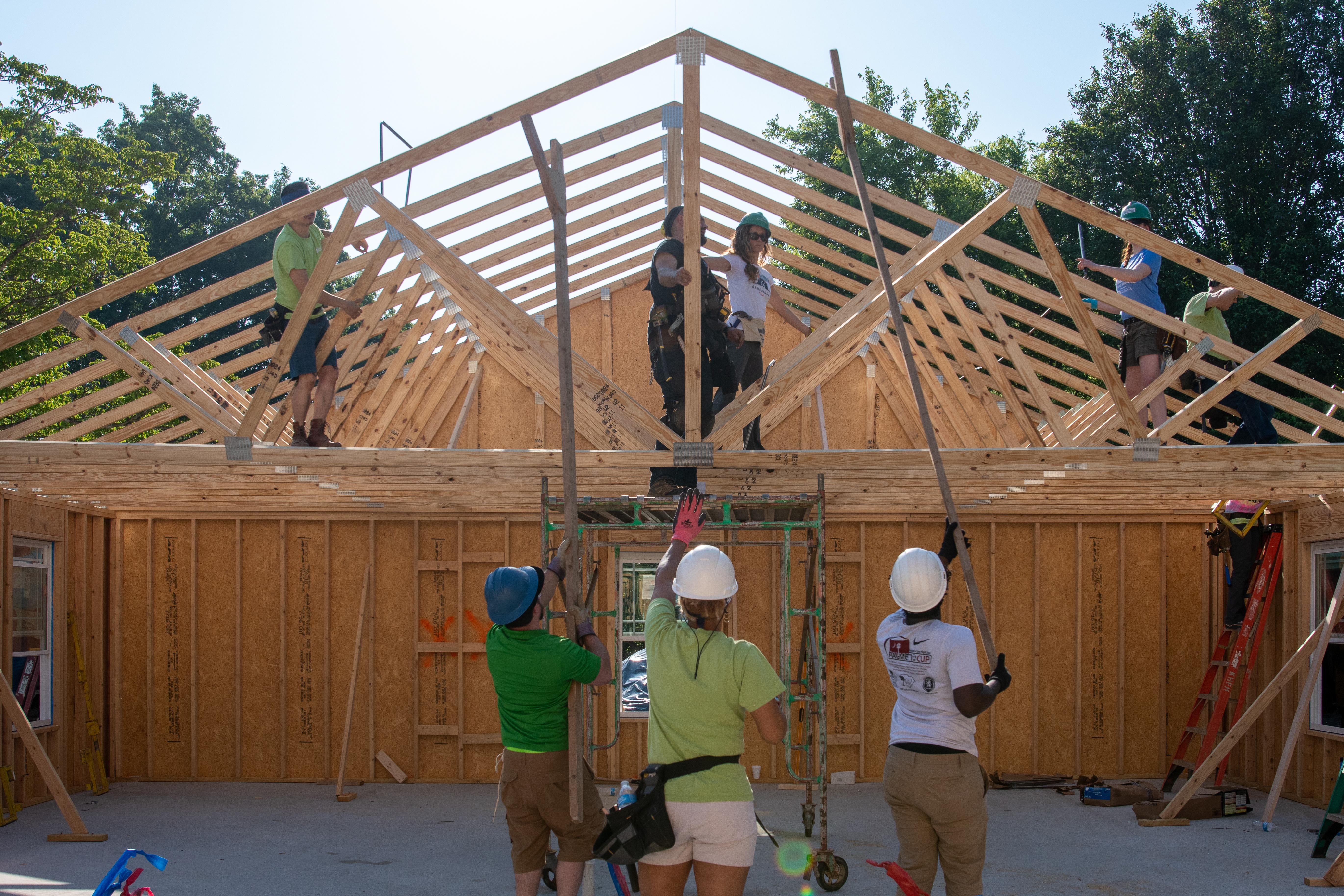 Women Build Roofing