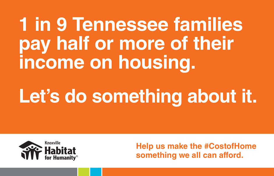 Header image for the #CostofHome capaign